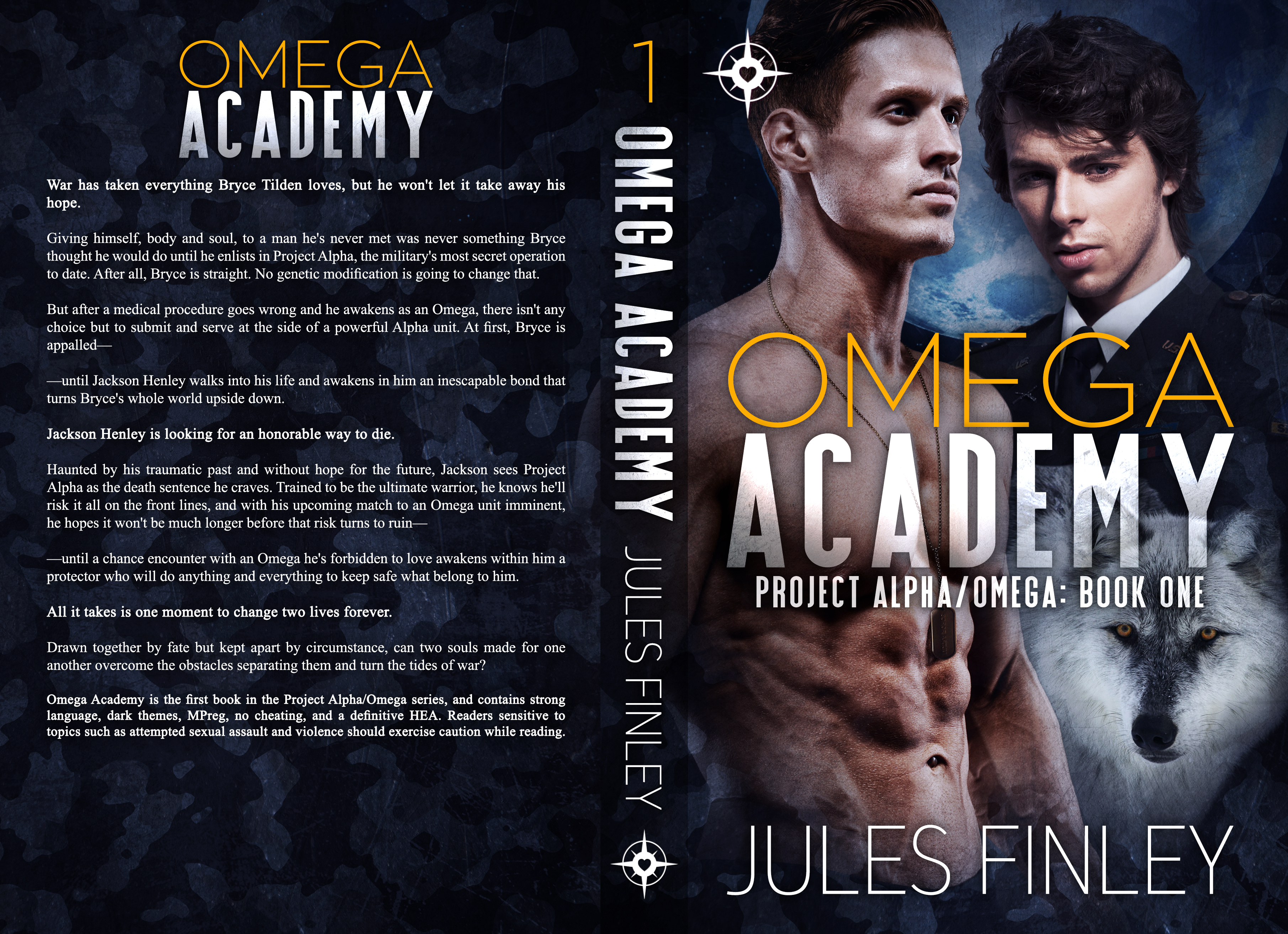 Jules Finley - Omega Academy Print
